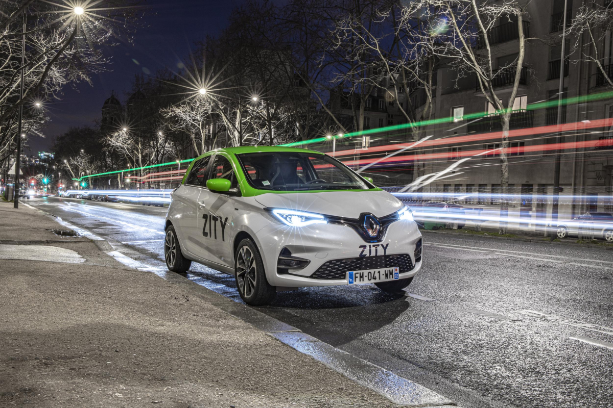 Renault Launch Flexible Electric Car-Sharing in Paris  Image