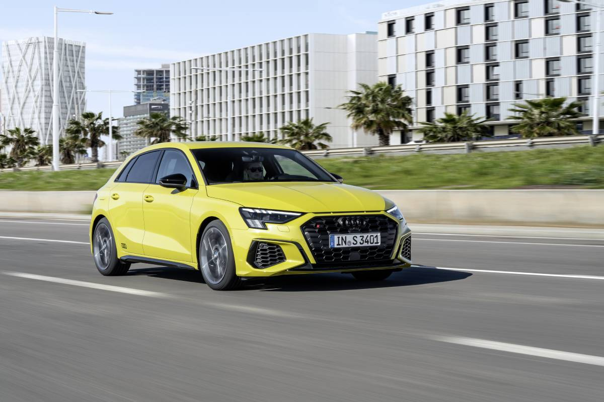 Audi Launch the Riotous New S3 Sportback and Saloon Image