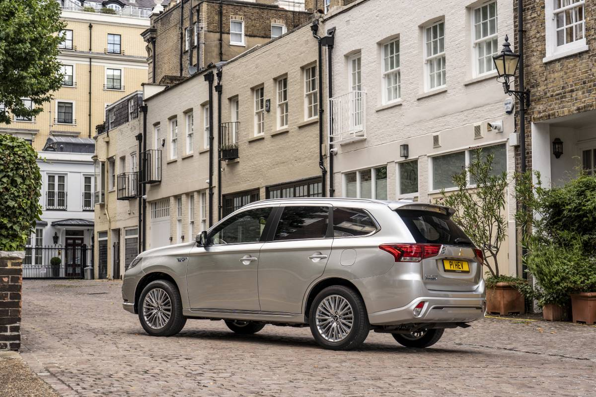 Mitsubishi Outlander PHEV Remains a Top Selling Plug-In Hybrid in 2020