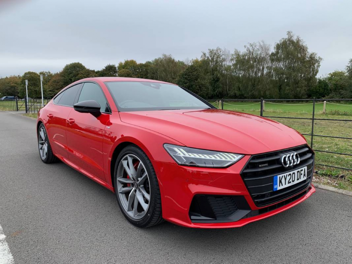 Audi A7 Sportback 55 TFSI e quattro 367PS Competition 2020 Review