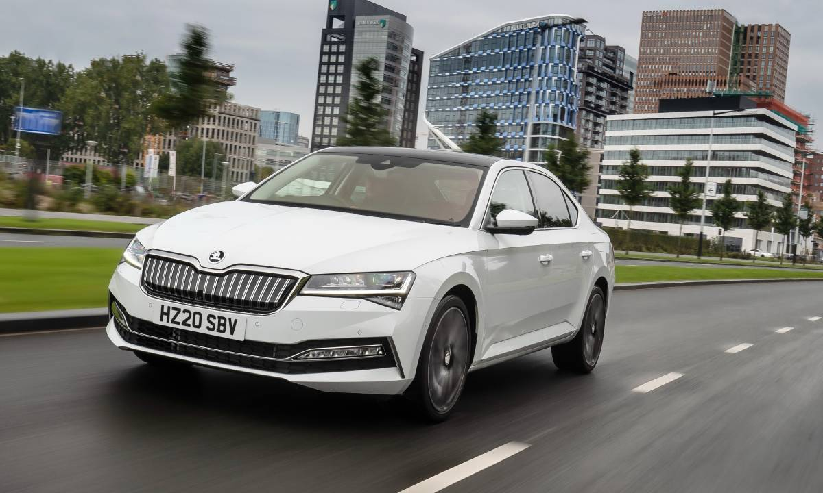 ŠKODA Octavia Crowned Auto Express Car Of The Year 2020