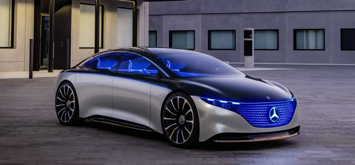 Mercedes Tease their Upcoming Electric Vehicle with 750 Mile Range