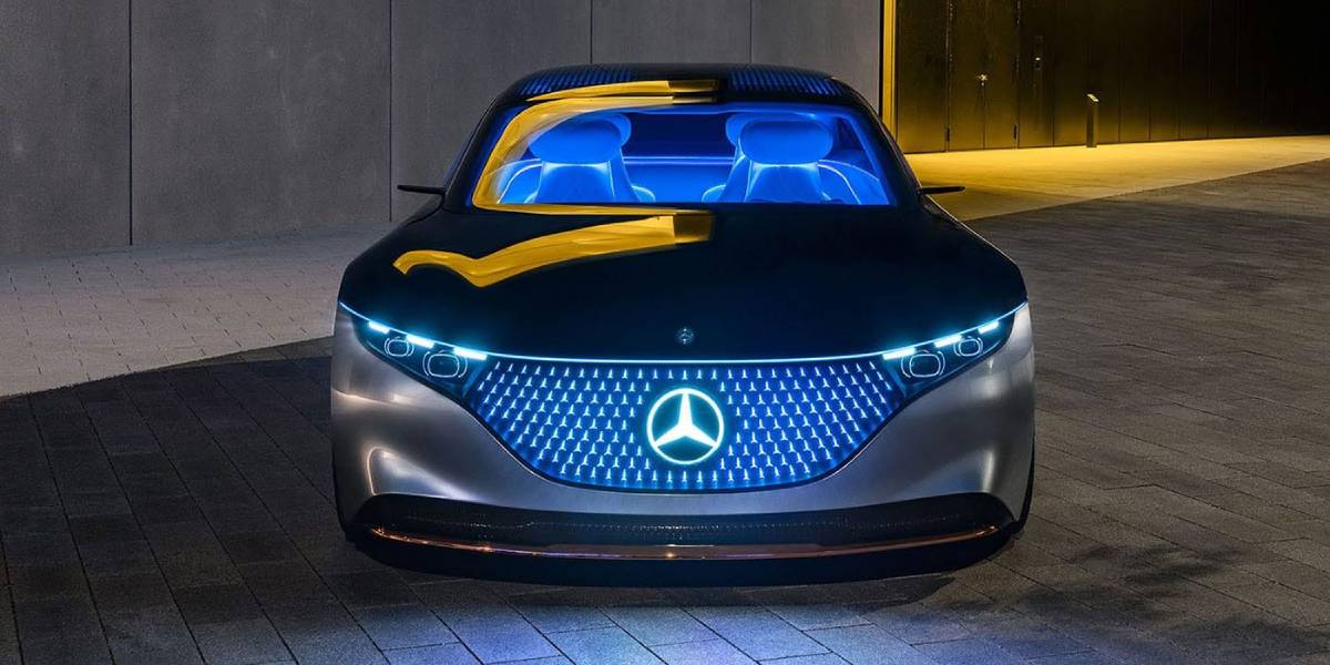 Mercedes Tease their Upcoming Electric Vehicle with 750 Mile Range  Image