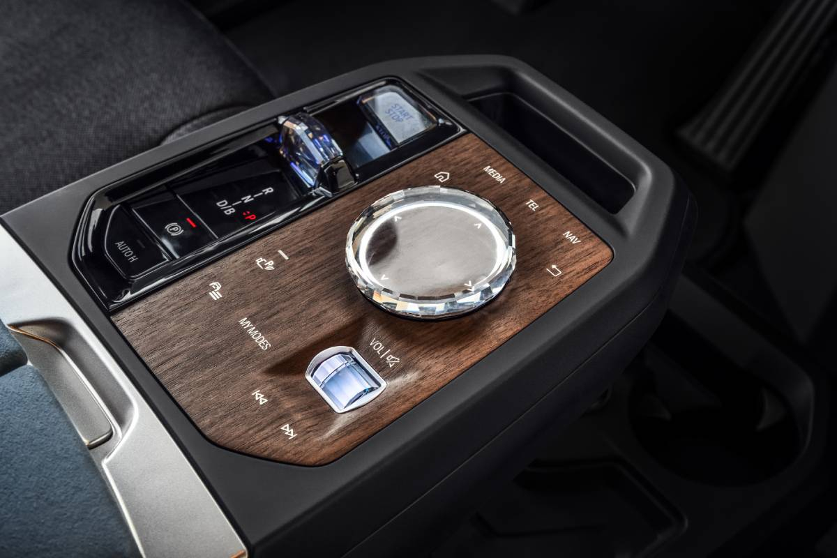 New BMW iX: Fast, Stylish, Electric Sports Activity Vehicle Image