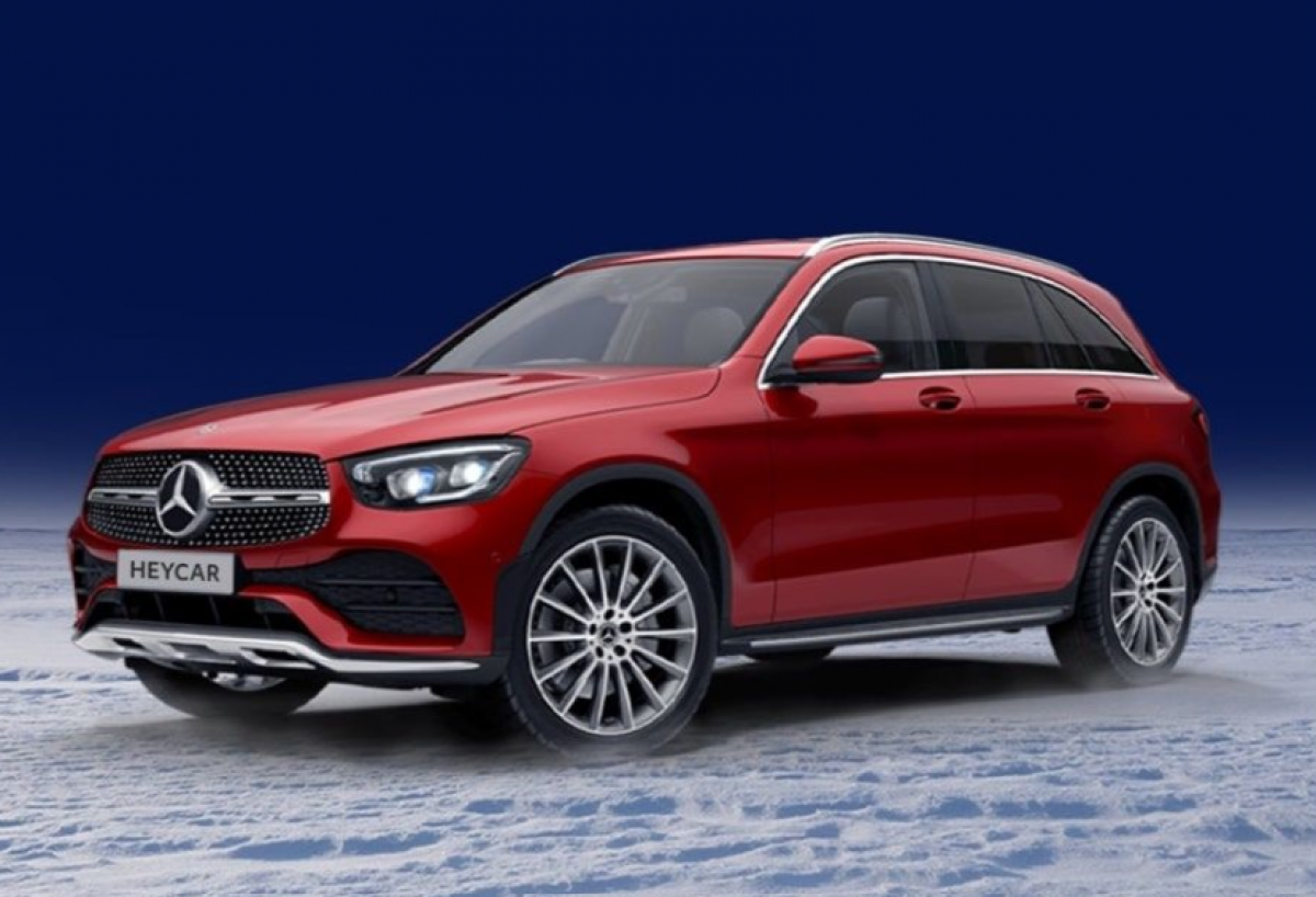 Could You Be Dashing Through the Snow in a Mercedes-Benz GLC This Christmas?