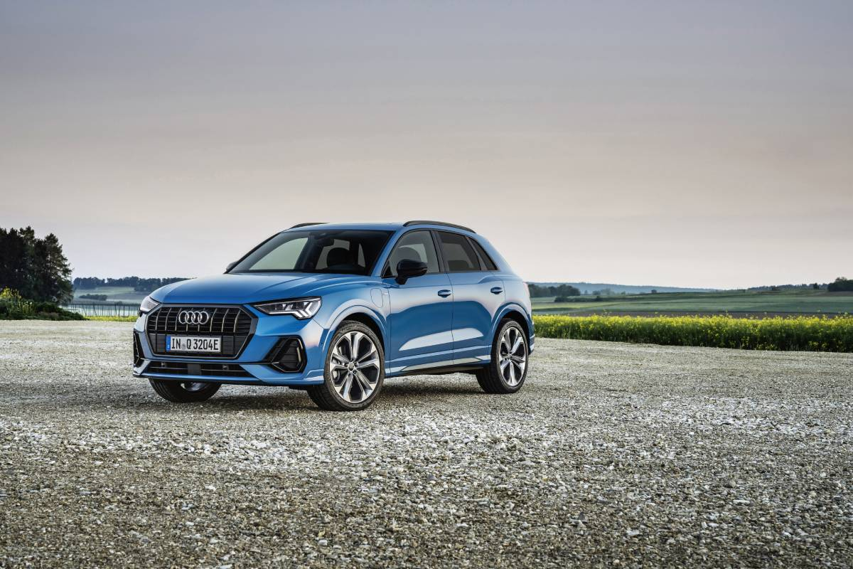 Audi Introduce Their First Compact SUV Plug-In Hybrid