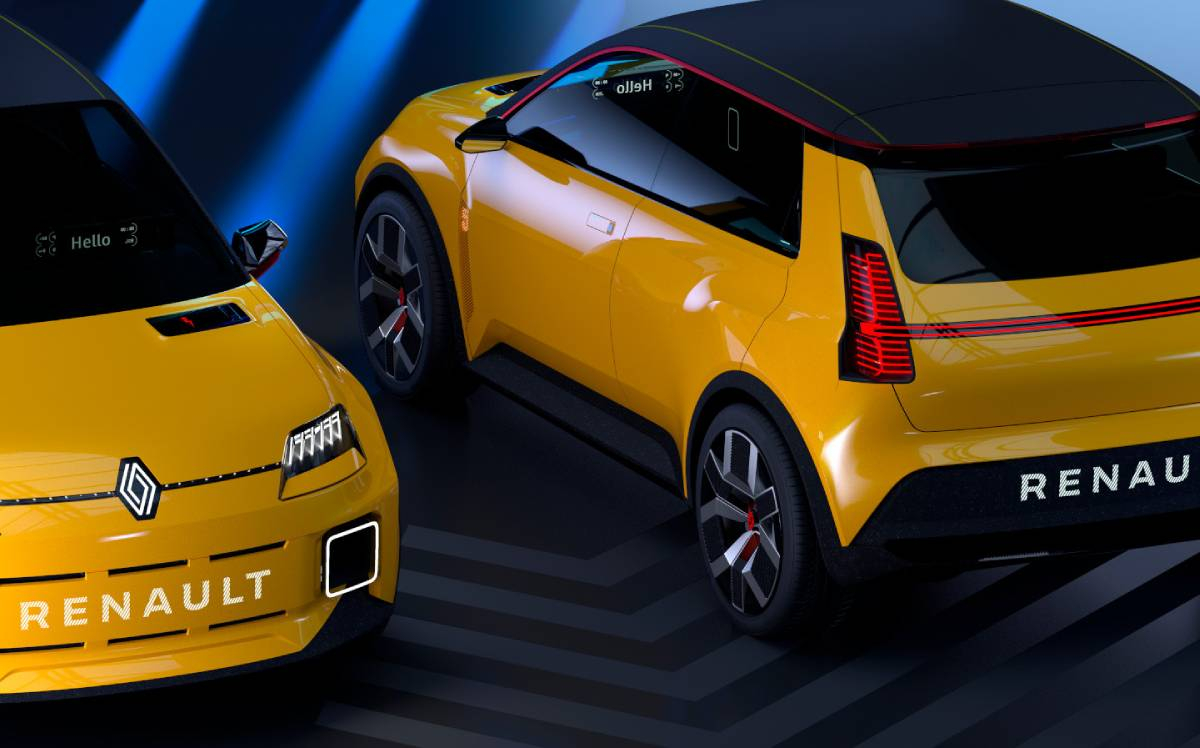 The Rebirth of the Renault 5 as a New Electric Supermini