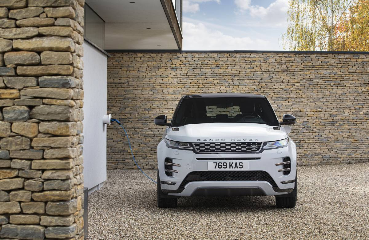 Range Rover Evoque P300e PHEV 2021 Review