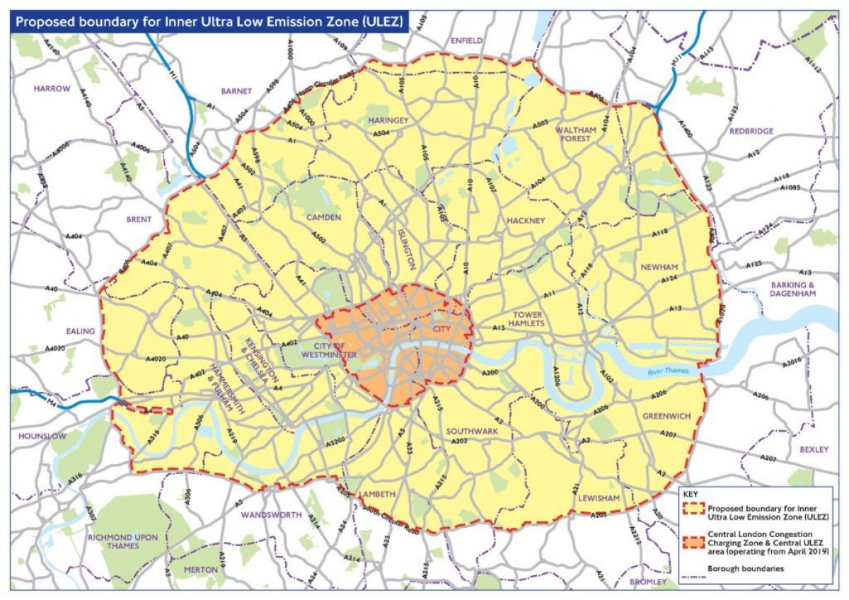 London's Ultra Low Emission Zone is Expanding Image