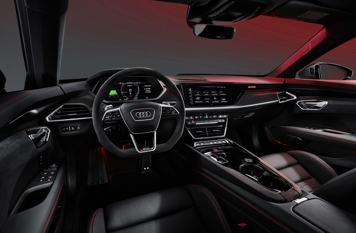 First look at the Audi e-tron GT Image