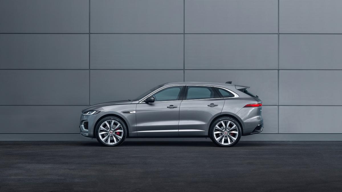 New Jaguar F-PACE (2021) Review