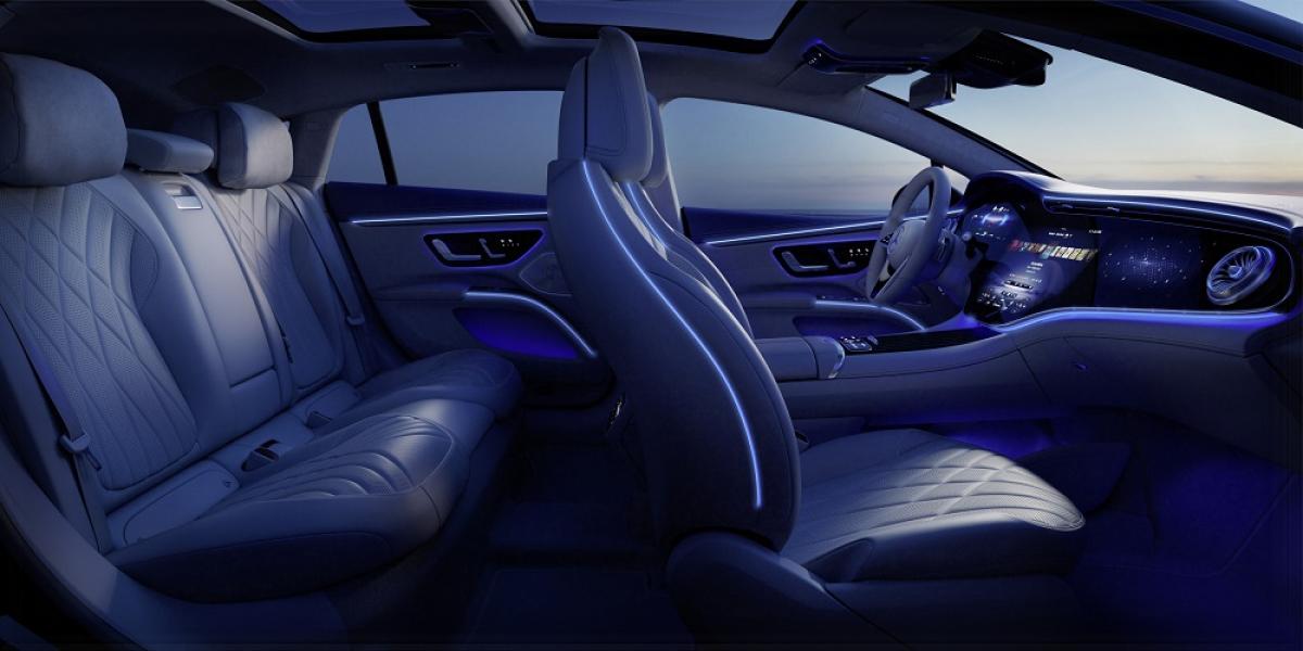 New Mercedes-Benz EQS interior revealed Image