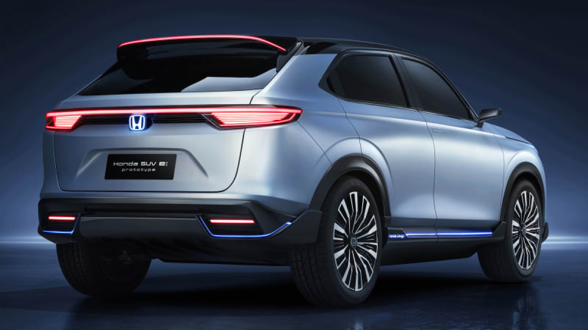 Honda SUV E:Prototype unveiled at Auto Shanghai 2021 Image