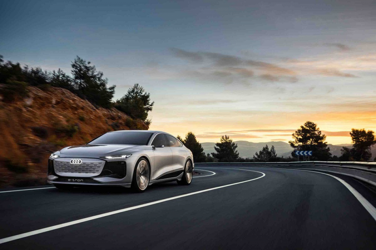 Audi A6 E-Tron concept revealed at Auto Shanghai 2021
