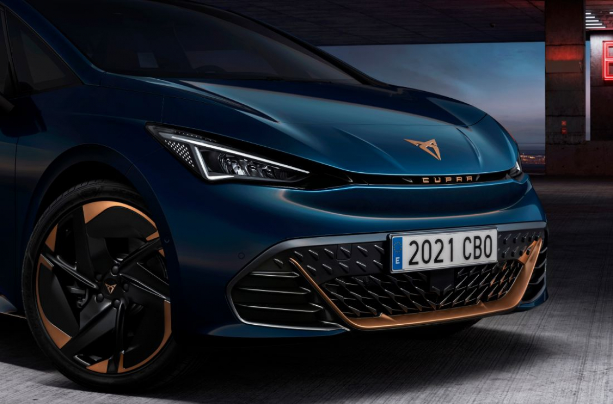 First look at the CUPRA Born Image