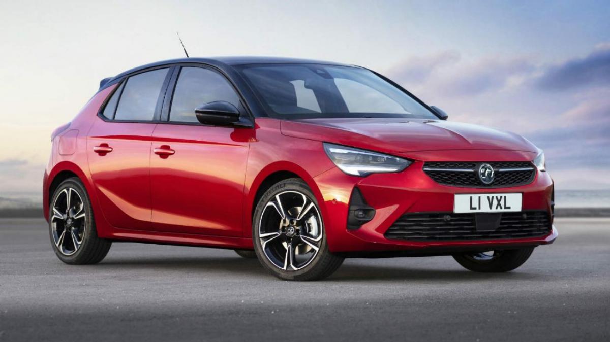 New Vauxhall Corsa tops UK sales charts