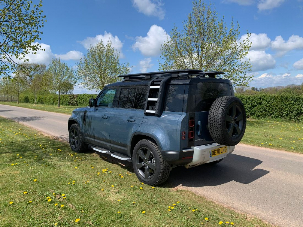 Land Rover Defender 110 Hard Top review