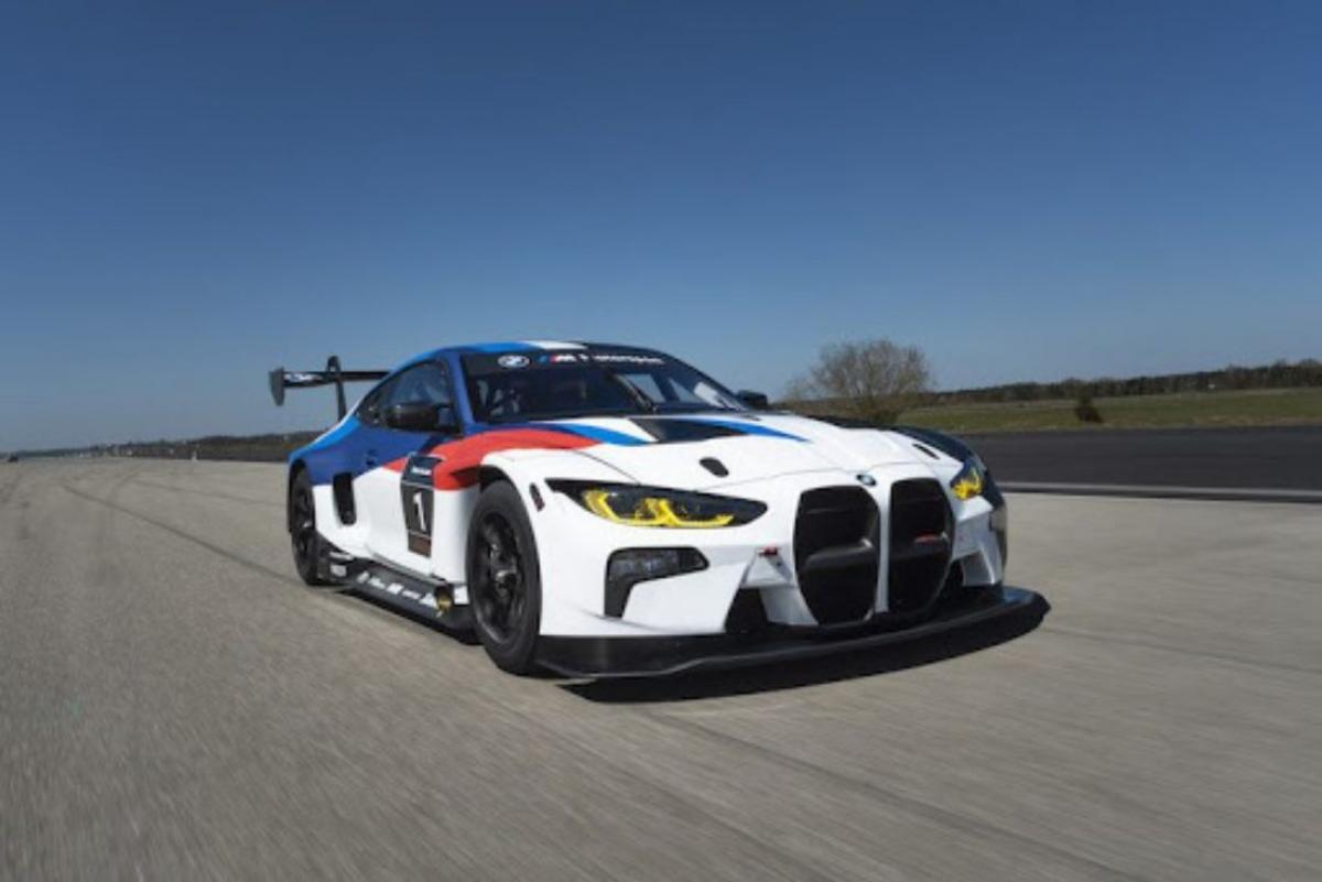 BMW M4 GT3 Race Car To Debut At Nürburgring Image