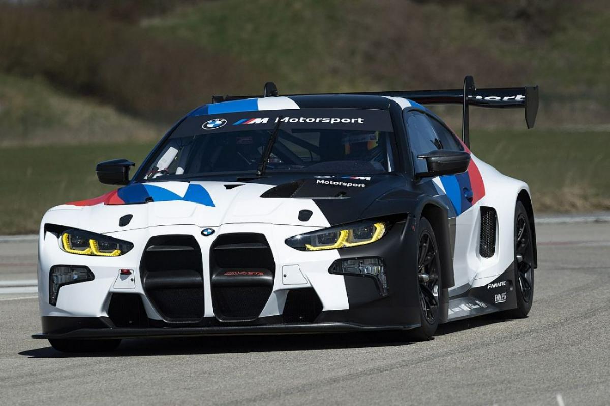 BMW M4 GT3 Race Car To Debut At Nürburgring