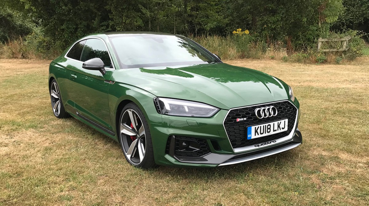 Audi RS 5 Coupe Carbon Edition Review