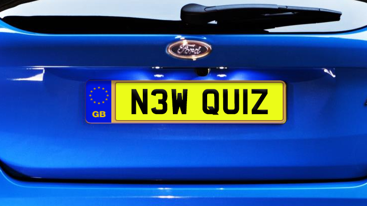 Match The Celeb With The Private Reg